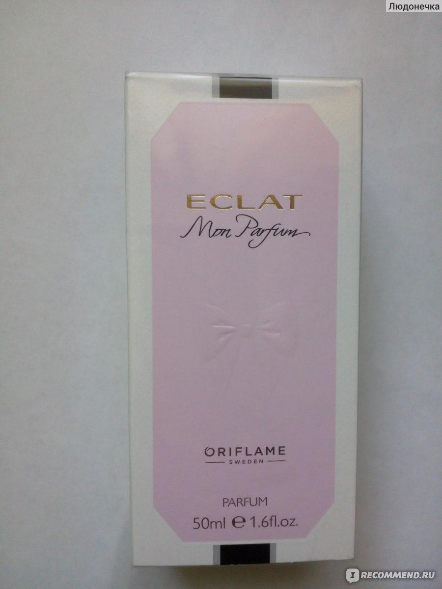 Oriflame Eclat Mon Parfum настоящая элитка отзывы покупателей