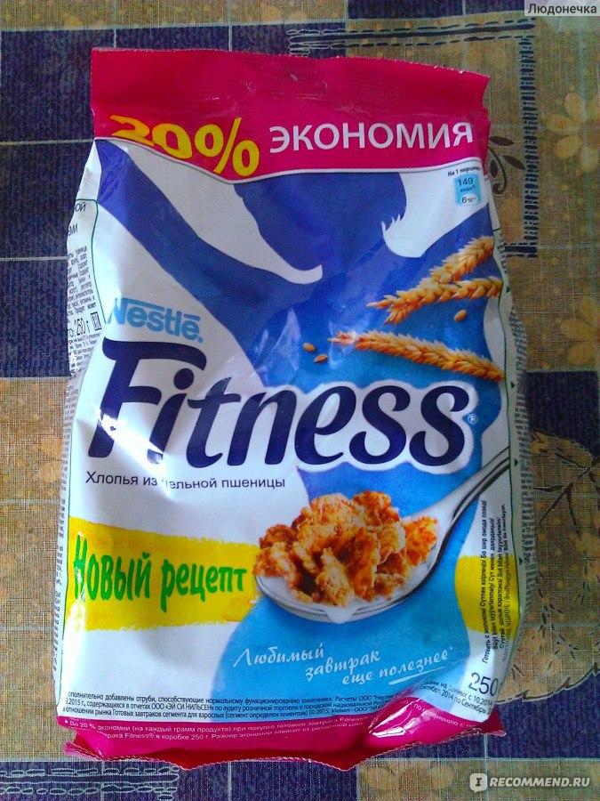 Фитнес хлопья при похудении