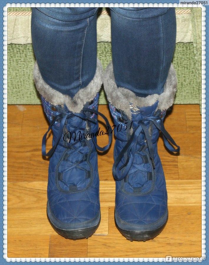 Зимние сапоги Columbia MINX MID II OMNI-HEAT - «Яркие, удобные ... d9d3ceff944