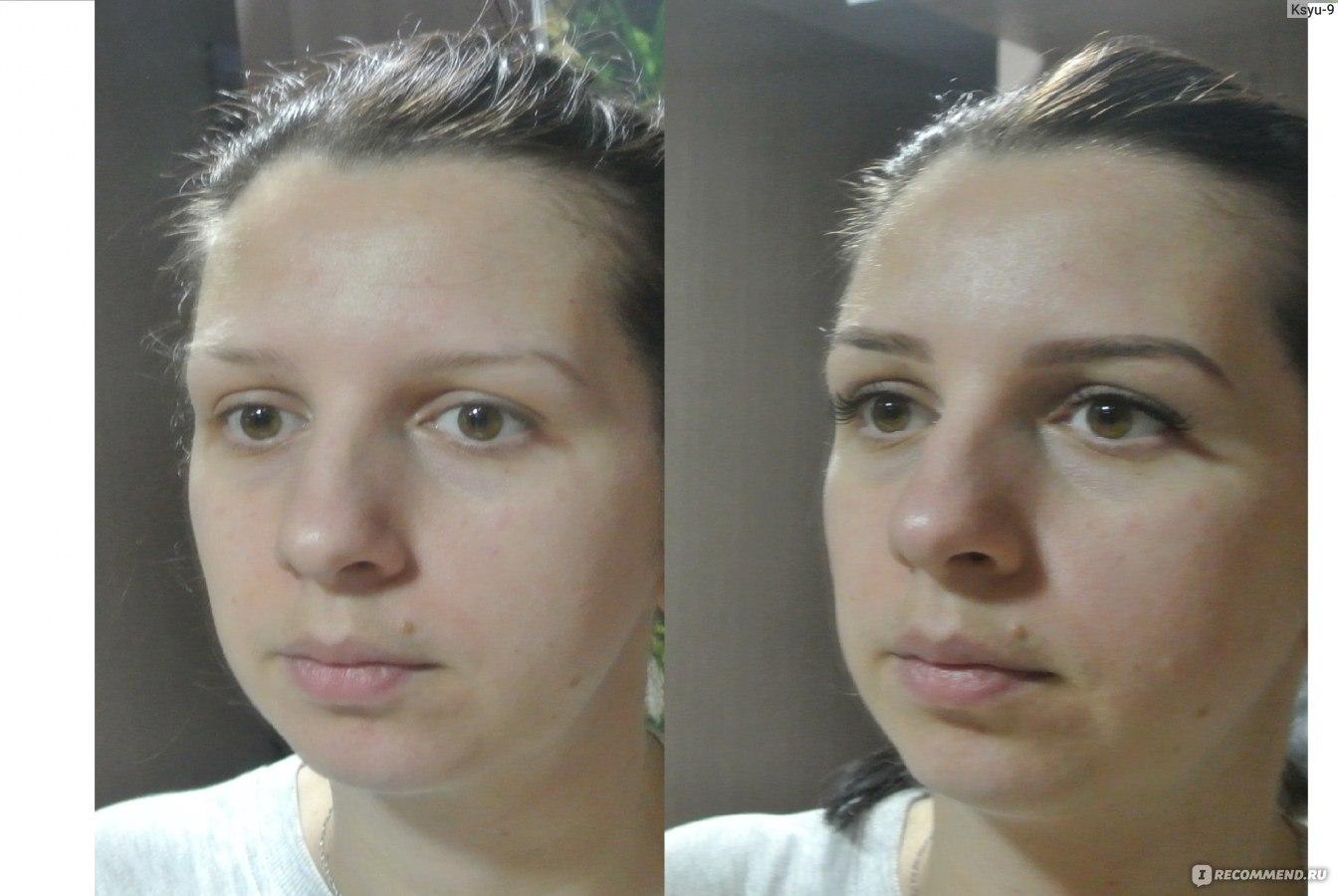 1 в наращивание ресниц фото до и после
