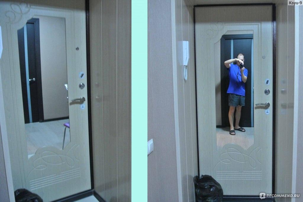 входные двери в квартиру с зеркалом недорого