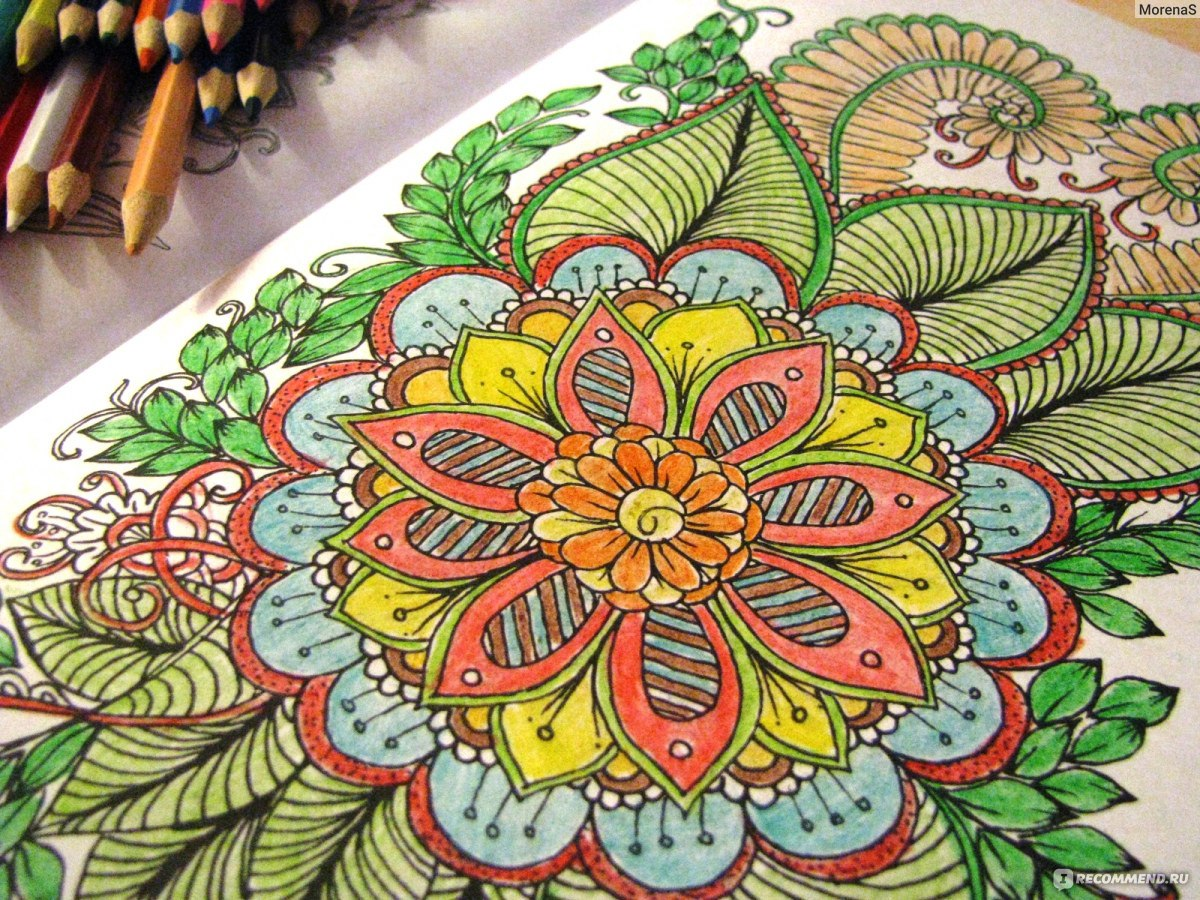 волшебные цветы рисуем для отдыха и релаксации редактор е