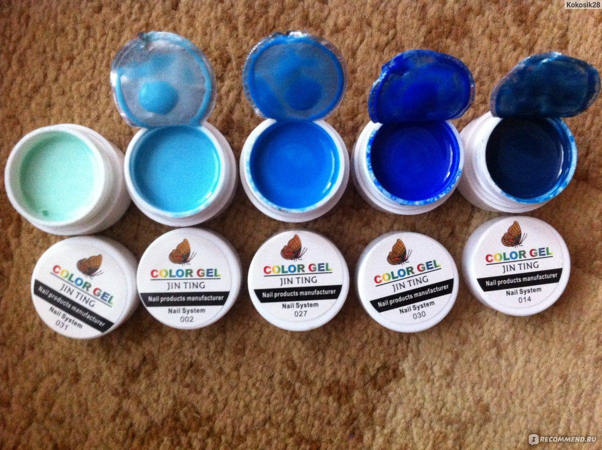 Как пользоваться гель красками для ногтей канни