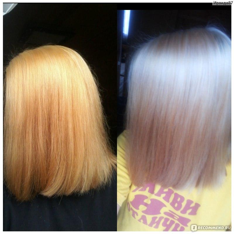 Тоника на желтые волосы
