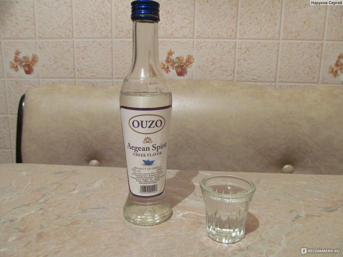 Как и с чем пьют греческую водку узо
