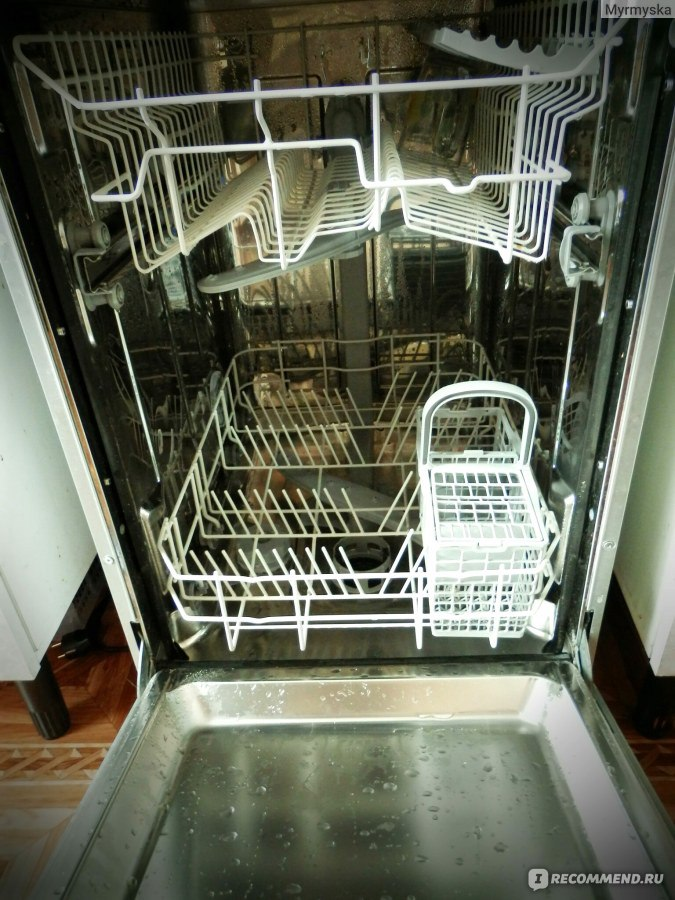 Инструкция По Эксплуатации Посудомойки Аристон - фото 8