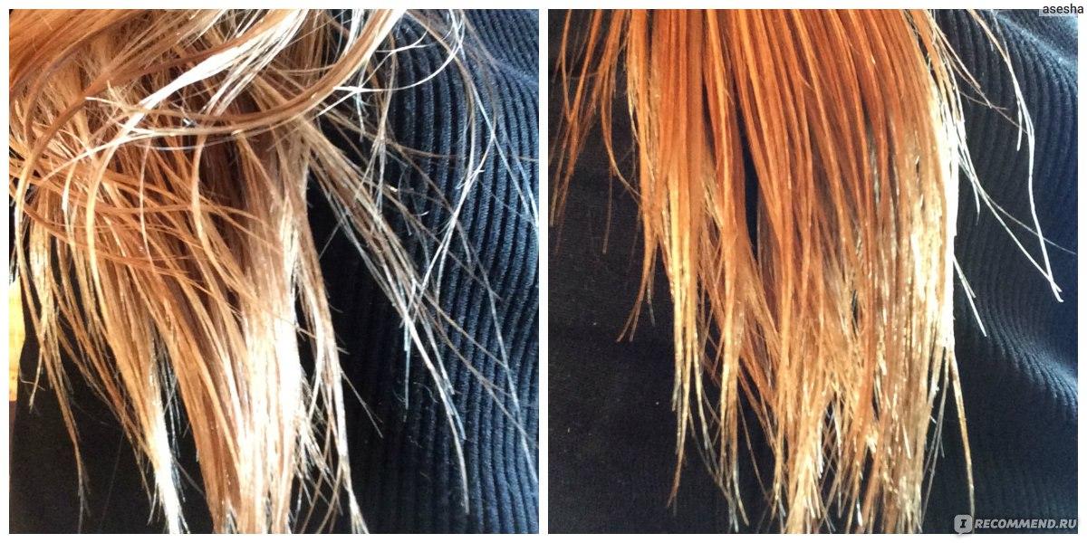 Чем и как осветлить кончики волос в  245