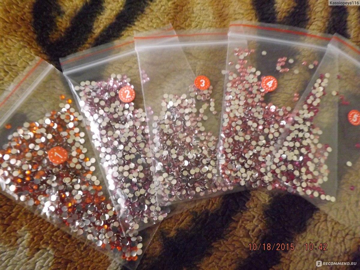 Стразы для алмазной вышивки спб