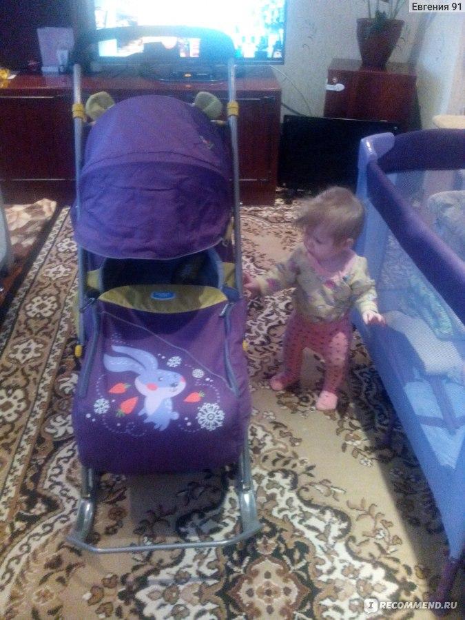 Санки коляска ника детям 2 отзывы