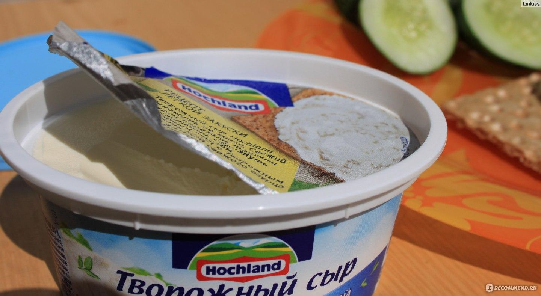 Крем для торта из творожного сыра хохланд рецепт