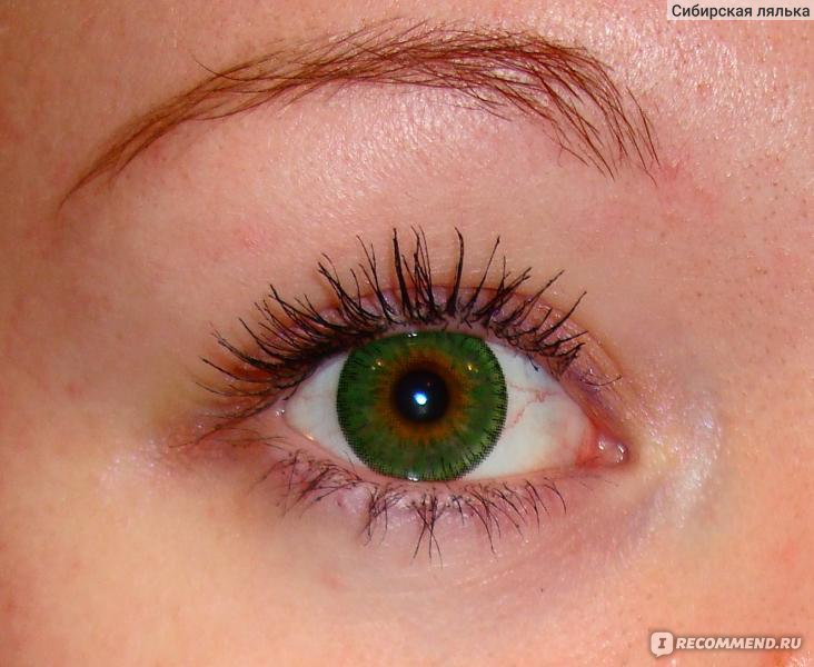 168 Как сделать глаза зеленого цвета без линз