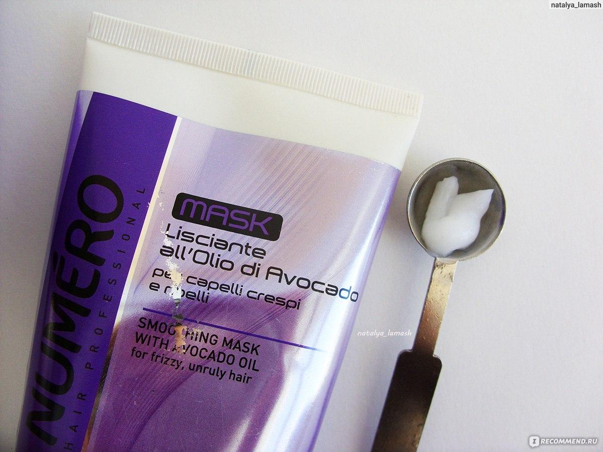 Маска для волос нумеро состав