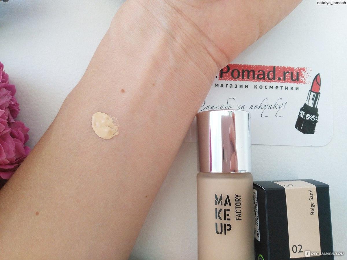 make up factory отзывы о тональном креме