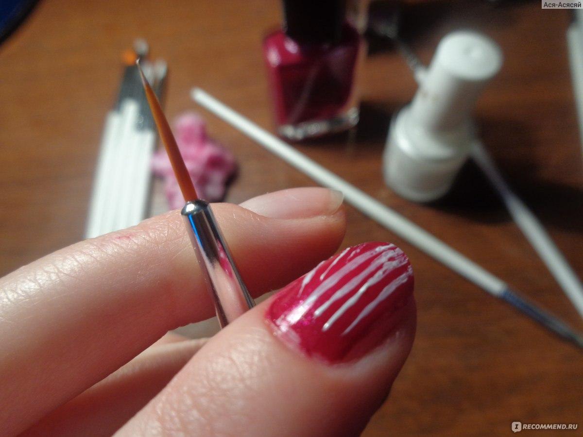 Фото кисточек для рисования на ногтях