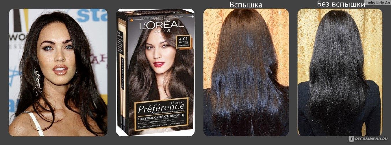 Как черный цвет перекрасить в каштановый цвет волос