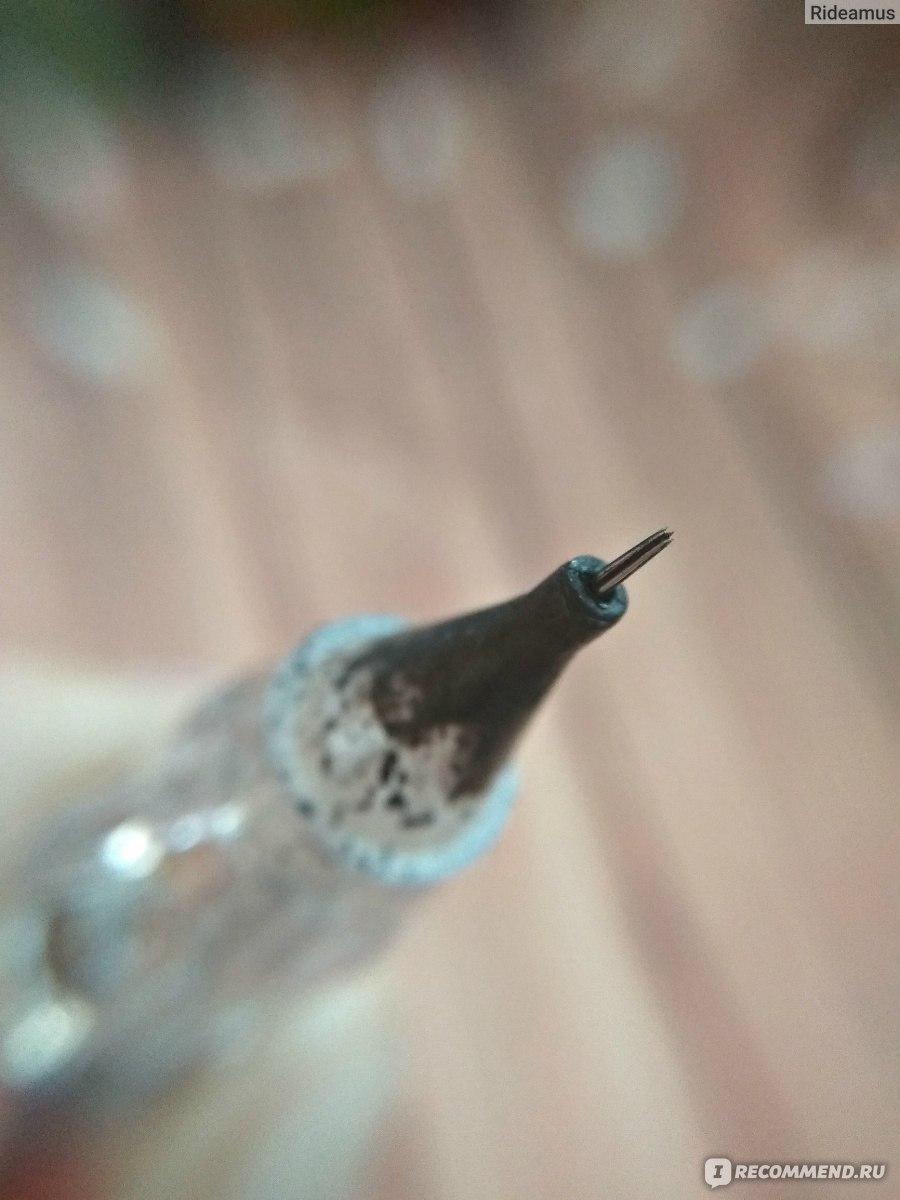 Татуаж ручкой