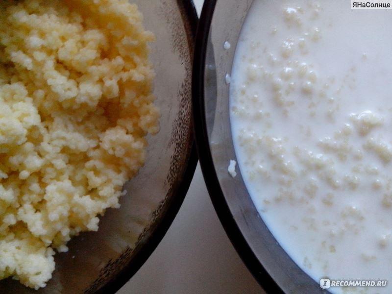 молочная каша кус кус рецепт