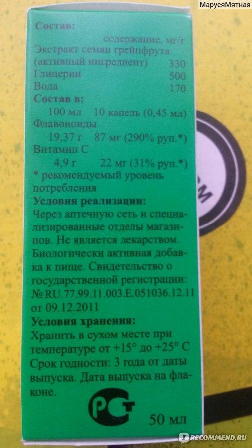 Цитросепт и псориаз