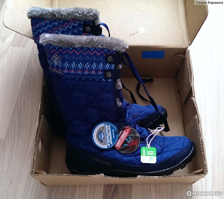 Зимние сапоги Columbia MINX MID II OMNI-HEAT - «Бомбические сапоги ... 13a62e1704f