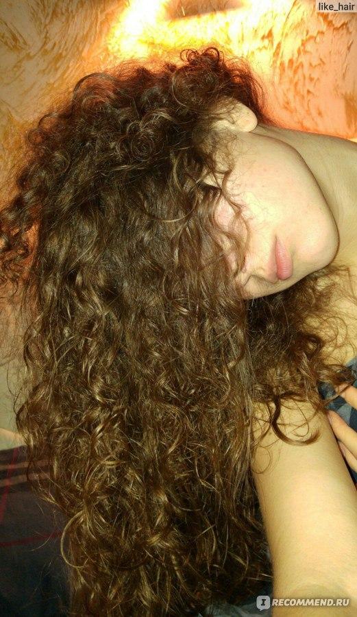 Кудрявые пористые волосы уход