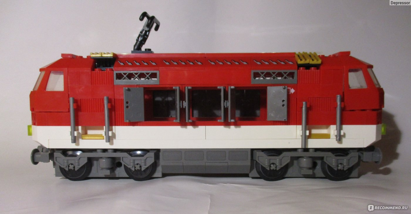 Как сделать вагон из лего 534