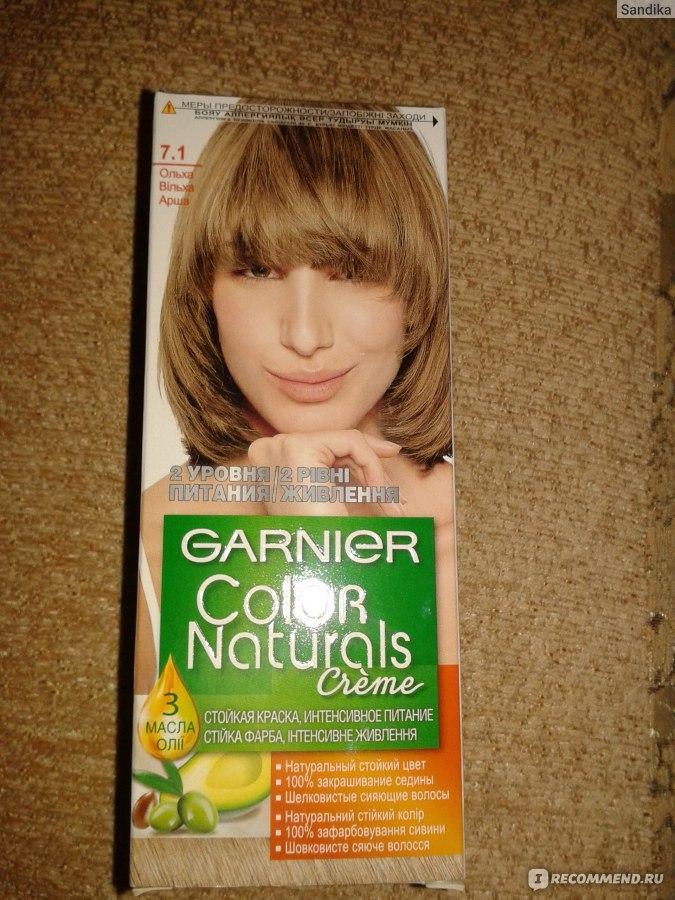 краска для волос garnier 7.0