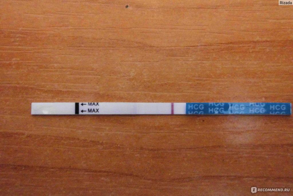 тест на вагітність негативний фото