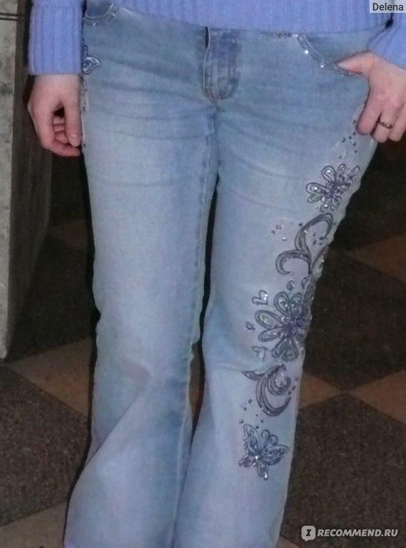 Как сделать что джинсы дальше не рвались 87