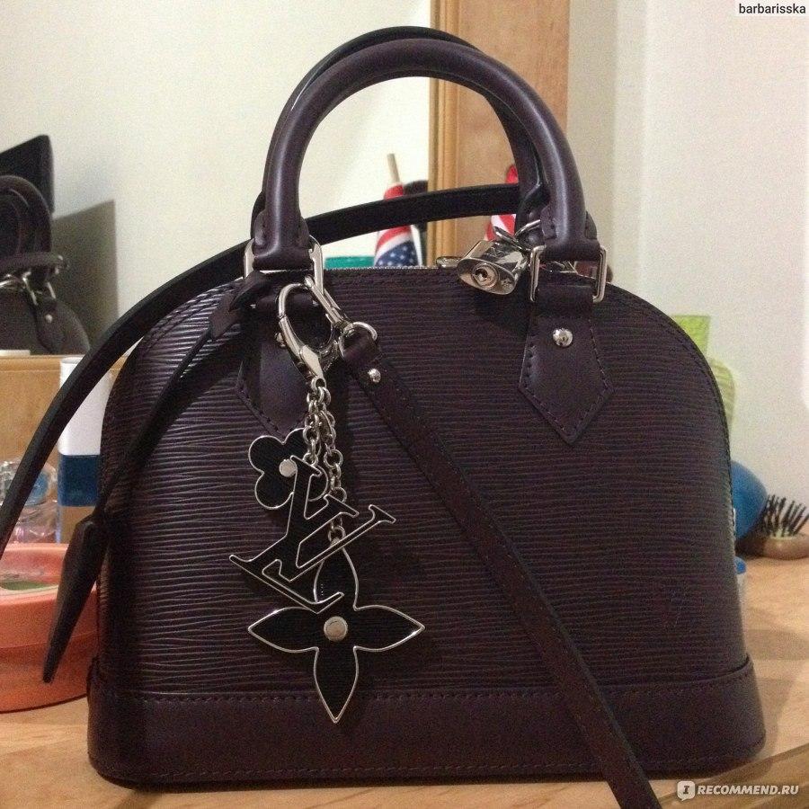 9065f3d3b30e Сумка Louis Vuitton Alma bb - «Элегантная сумочка Louis Vuitton Alma ...