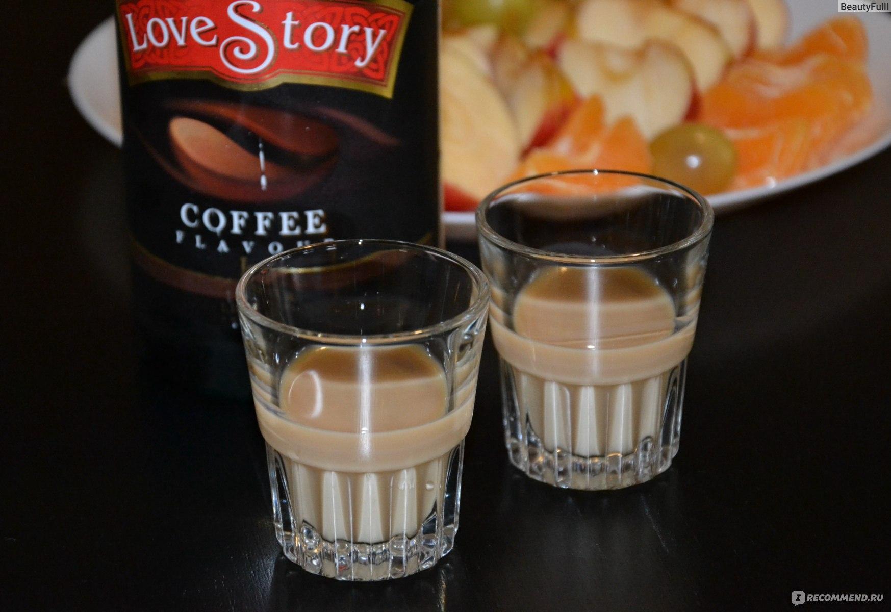 коктейли с ликером love story рецепты