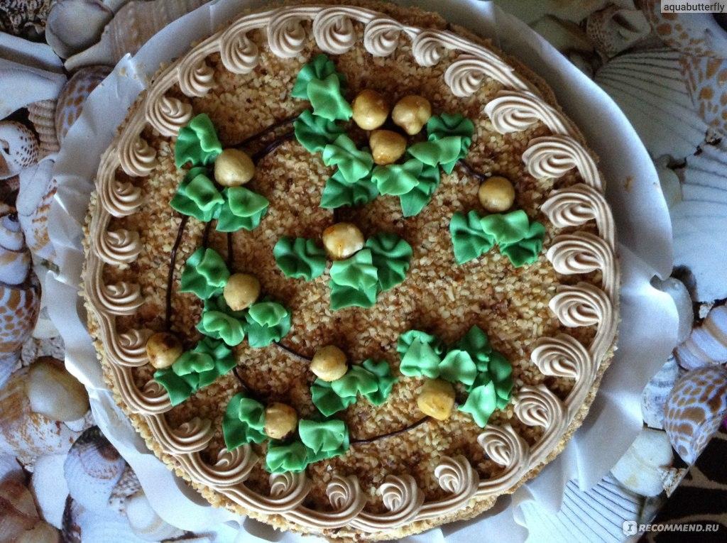 Ореховый торт рошен
