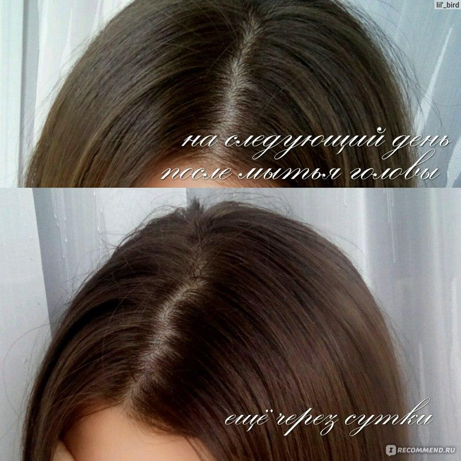 Волосы на следующий день жирные