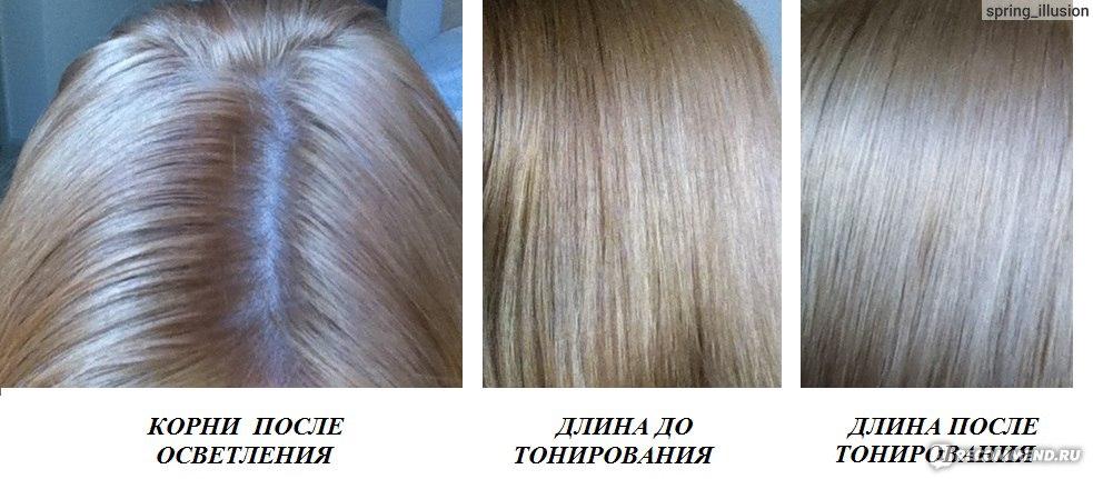 Тонирование волос краской после осветления