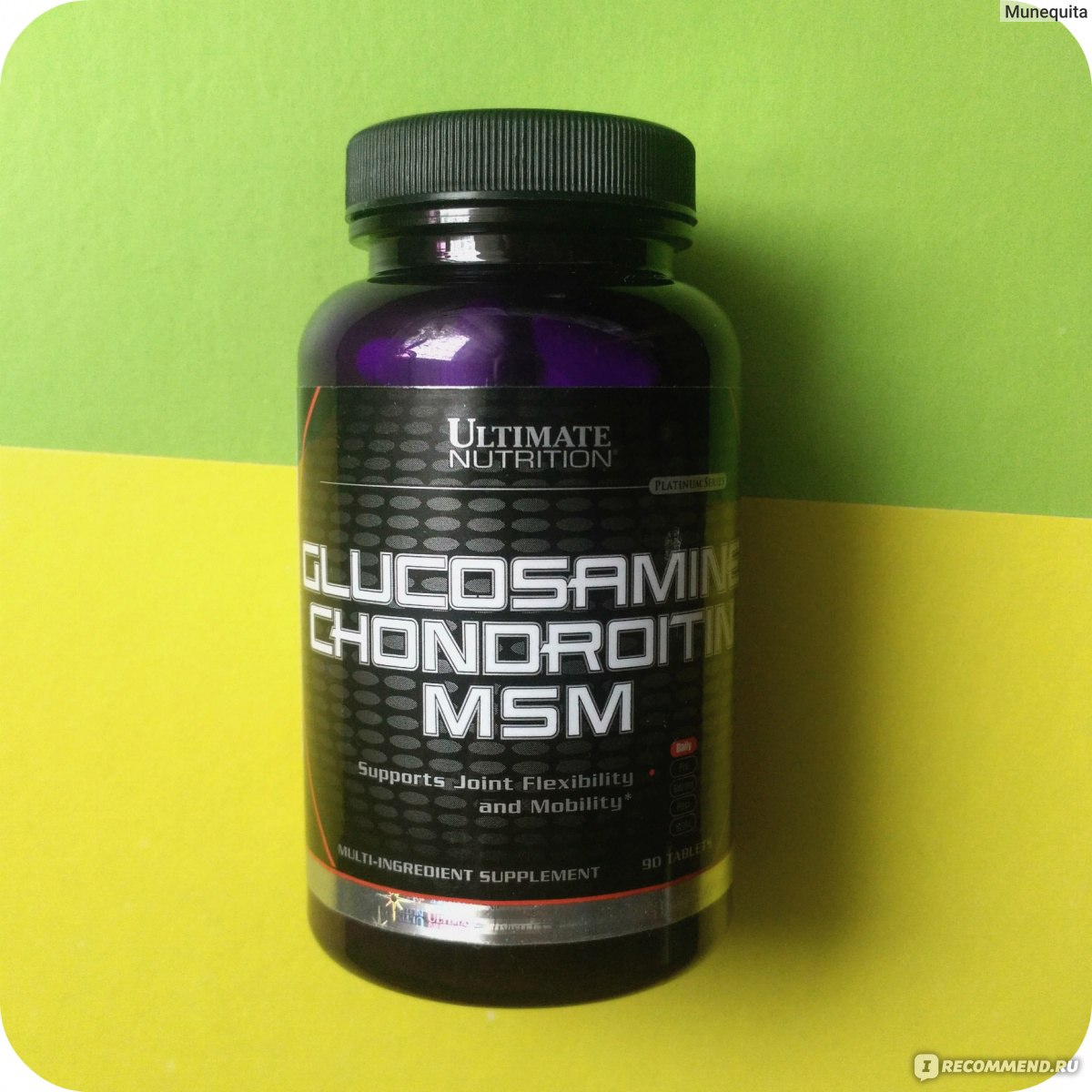90 tabs Source · Glucosamine Chondroitin MSM Ultimate Nutrition .