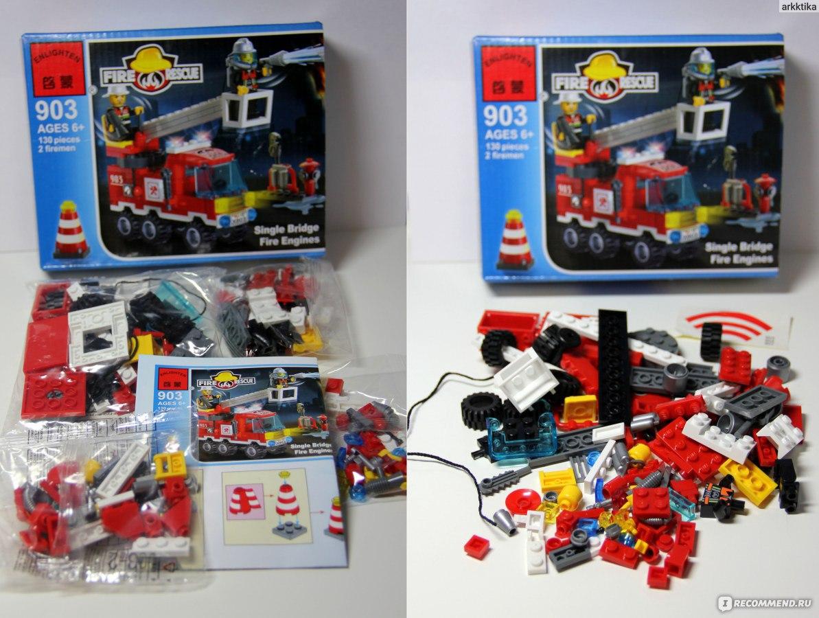 lego инструкция пожарная машина