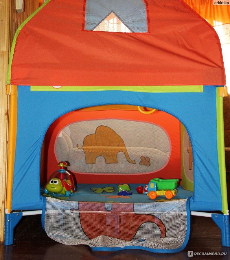 Манеж-кровать JETEM (Capella) Quadro R - « Jetem Quadro R
