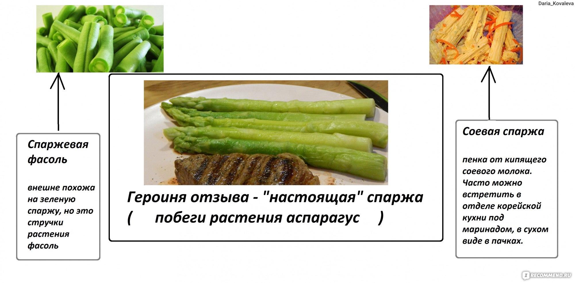 как приготовить зелёную замороженную спаржу