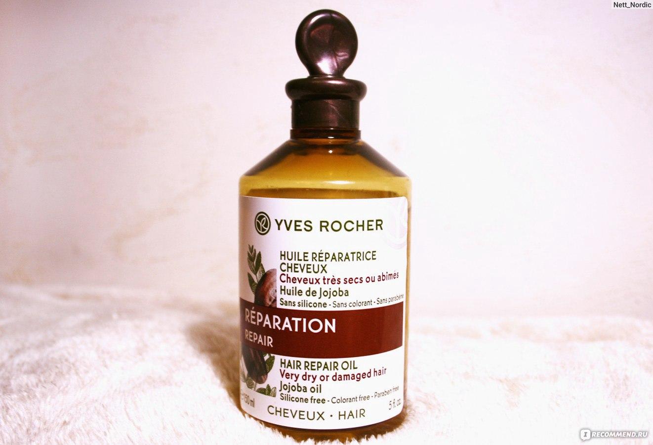 Маска для сухих волос с репейным маслом и касторовым маслом
