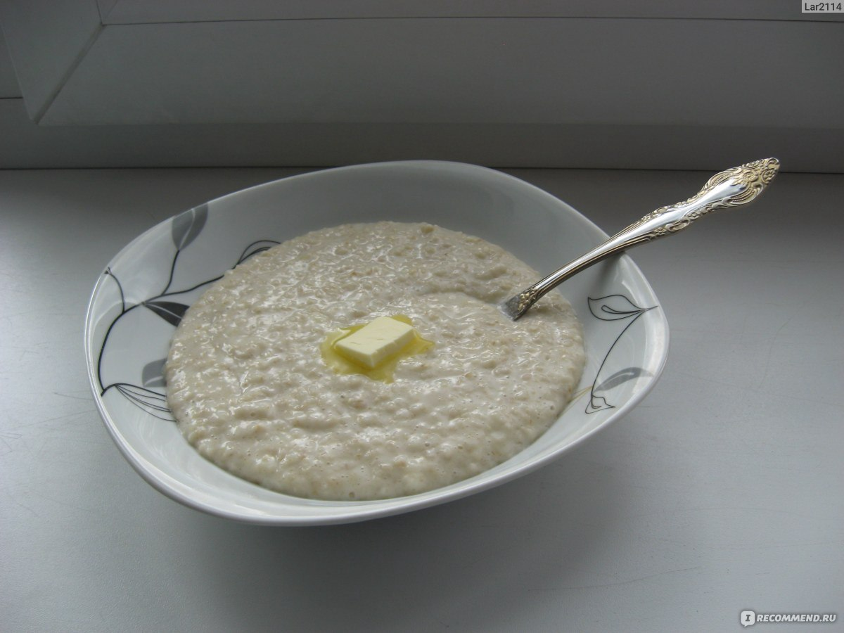 Овсяная каша на молоке вкусная рецепт пошагово в