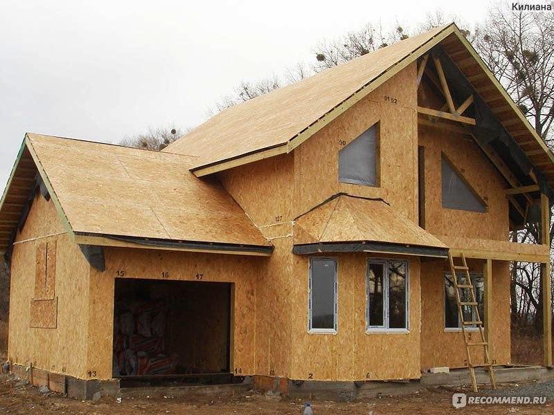 Как построить дом своими руками из сип панелей
