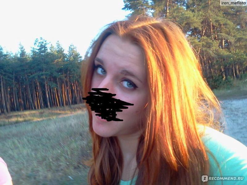 Тоника золотой орех на темные волосы фото