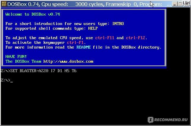 Как сделать на весь экран dosbox 86