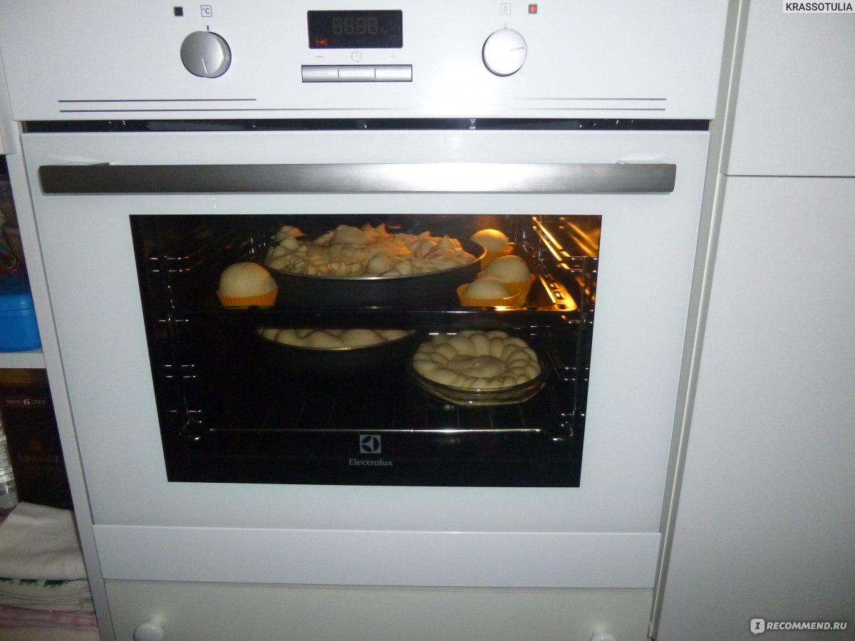 Духовой шкаф электрический встраиваемый electrolux ezb 53410 aw
