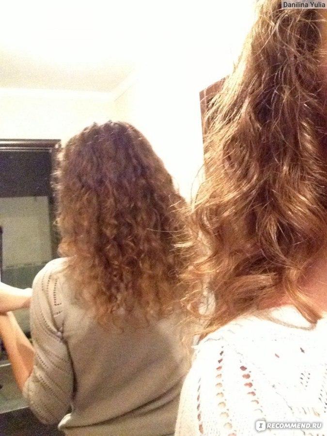 Кудрявые волосы натура
