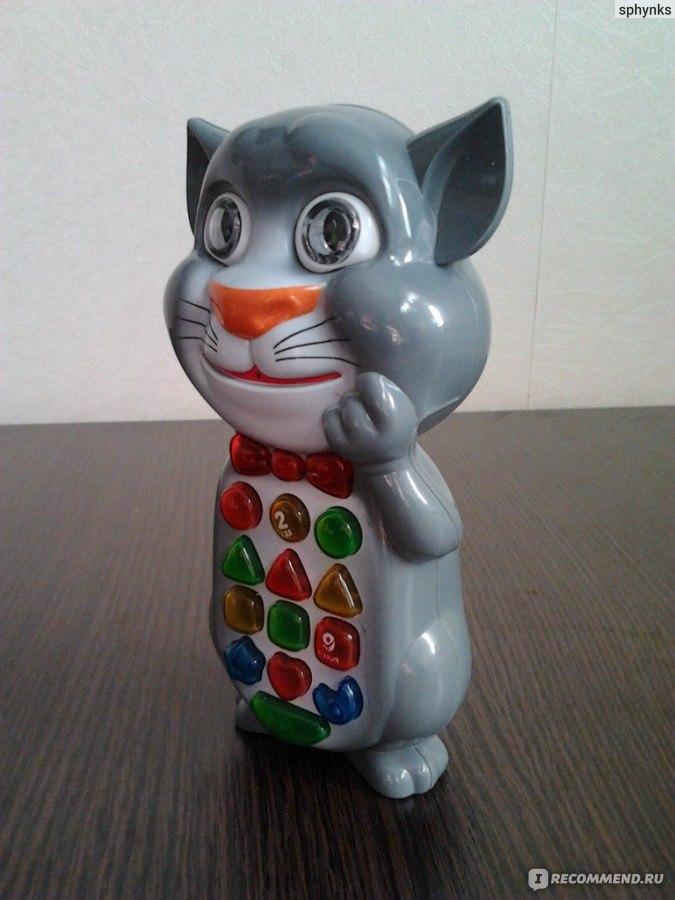 Музыкальная игрушка кот том