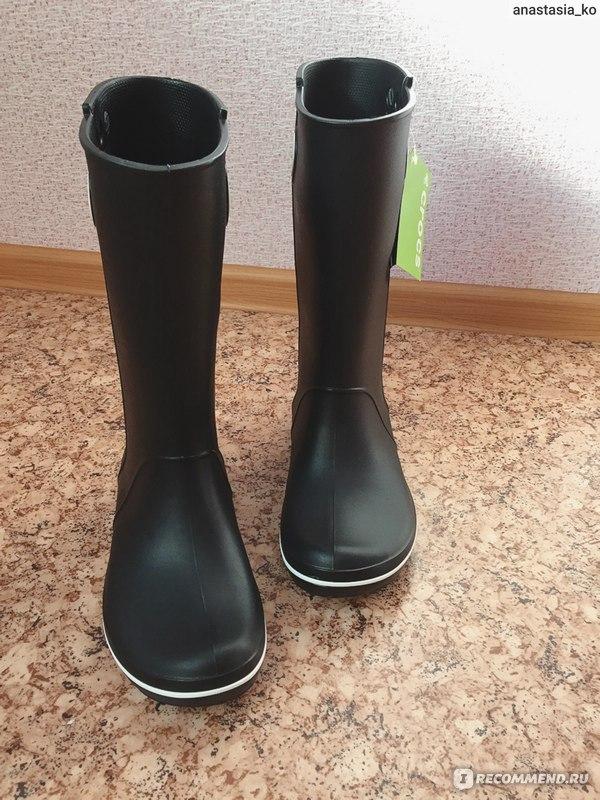 7e745ea5 Резиновые сапоги CROCS Crocband Jaunt Womens - «Лучший вариант на ...