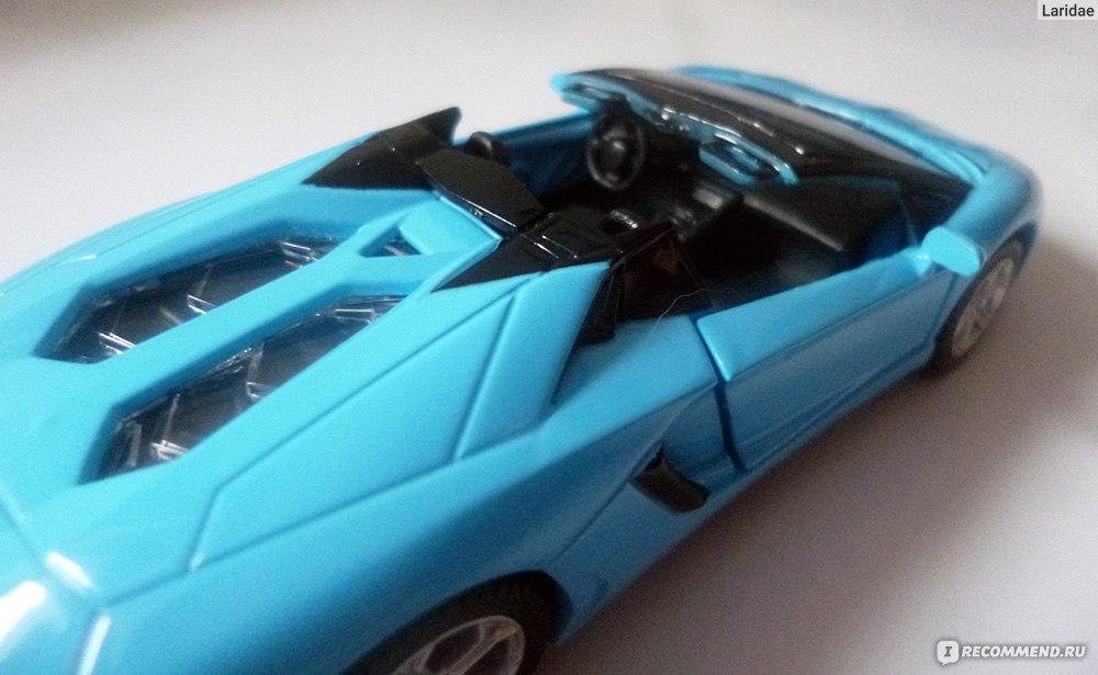 уменьшенные копии автомобилей ламборджини авентадор