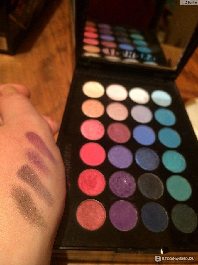 палетка макияжа color festival 72 теней