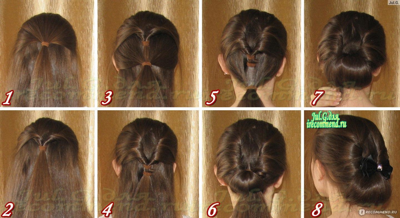 Петля для волос : 10 легких причесок с помощью петли (фото) 399