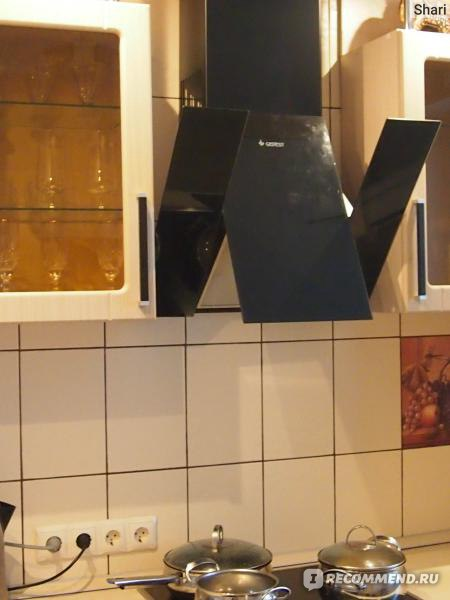Установка вытяжки на кухне своими руками гефест